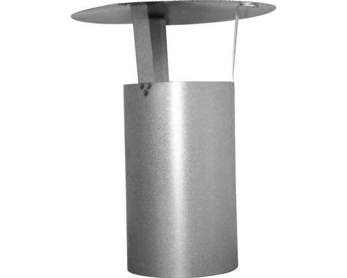 Tuyau de poêle avec chapeau pare-pluie Ø 120 mm aluminié à chaud