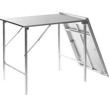 Table pliante VEBA en métal aluminium-thumb-1