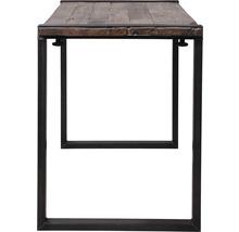 Piètement de table VEBA Old Dutch pieds de table en forme de U bois 220 x 80 cm marron-thumb-2
