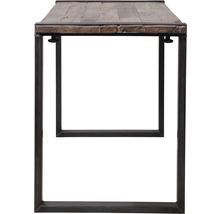 Piètement de table VEBA Old Dutch pieds de table en forme de U bois 220 x 80 cm marron-thumb-3