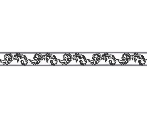 Frise Only Borders 9 autocollante Rameau noir blanc 5mx5cm