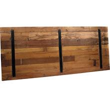 Plateau de table VEBA Old Dutch en bois 220 x 80 cm marron-thumb-3