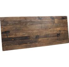 Plateau de table VEBA Old Dutch en bois 220 x 80 cm marron-thumb-4