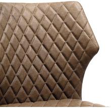 Chaise gastro VEBA Louis acier marron-thumb-3
