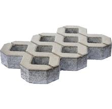 Pflasterstein Rasengitter Beton grau 60 x 40 x 8 cm-thumb-2