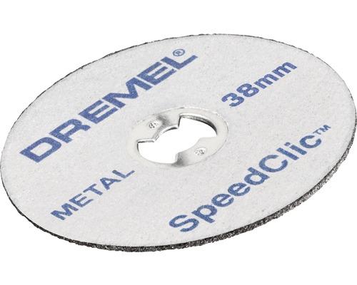 Disque à tronçonner pour la découpe des métaux Dremel EZ SpeedClic 38 mm (SC456B)