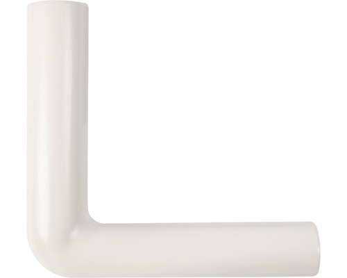 Coude pour tube de rinçage 230x210 pergamon