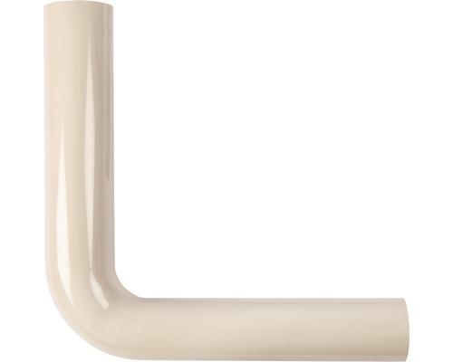 Coude pour tube de rinçage 380x210 beige
