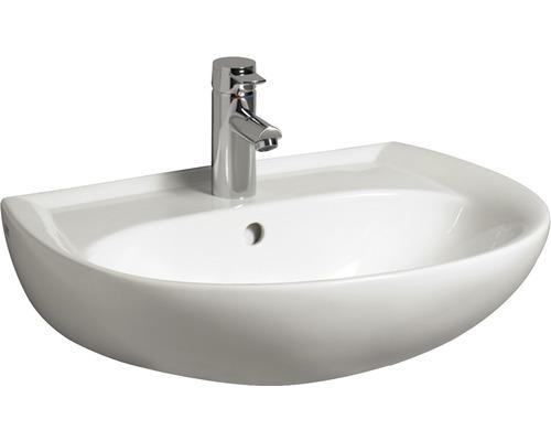 Lavabo GEBERIT Renova N° 1 Neu 60 cm blanc Keratec 223060600