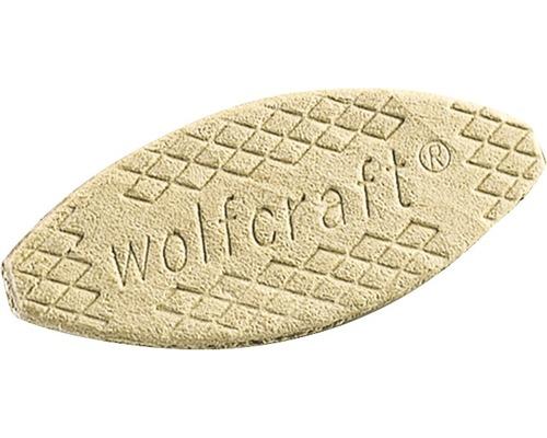 Cheville à lamelles Wolfcraft, taille 0, lot de 50