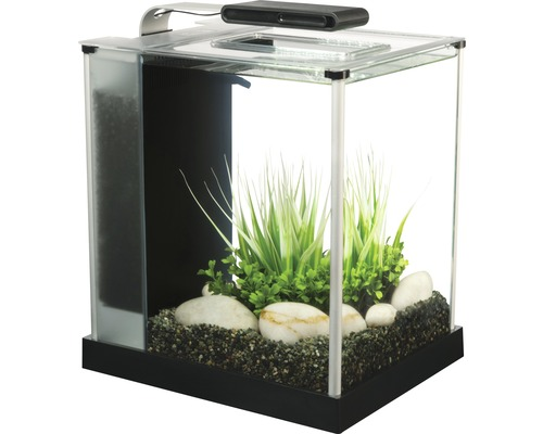 Aquarium Fluval Spec 3 Nano 10,7 l avec éclairage LED, filtre, noir