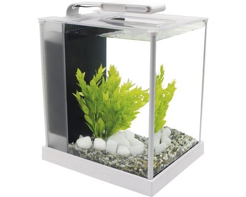 Aquarium Fluval Spec 3 Nano 10,7 l avec éclairage LED, filtre, blanc