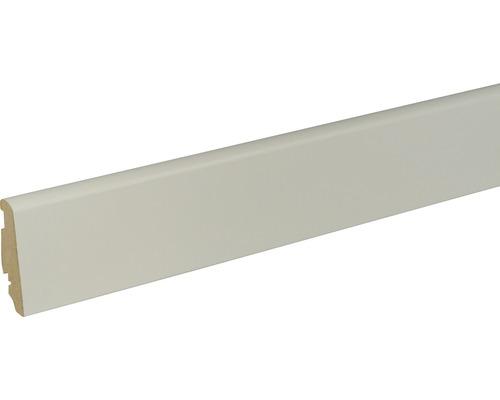 Plinthe blanc platine 20x58x2400mm