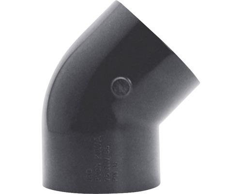 Angle PVC Ø 50mm 45°