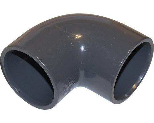 Angle PVC 90° - Ø 50mm manchon adhésif