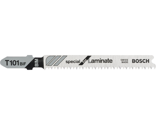 Lame de scie sauteuse Bosch T 101 BIF pack de 5