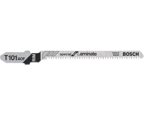 Lame de scie sauteuse Bosch T 101 AOF pack de 3