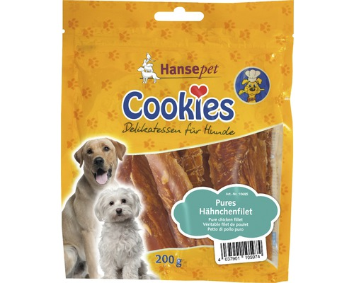 Hundesnack, Cookies Hähnchenfilet 200 g