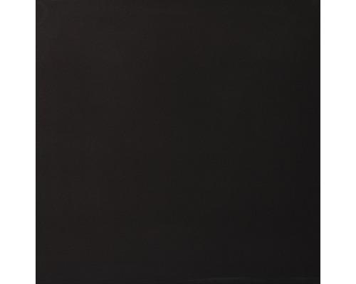 Carrelage de sol Uni, noir poli, 60x60 cm