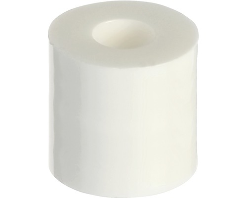 Douilles d''écartement 10 mm, blanches, 15 unités