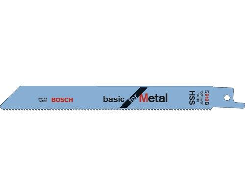 Lame de scie sabre Bosch S 918 BF Lot de 2