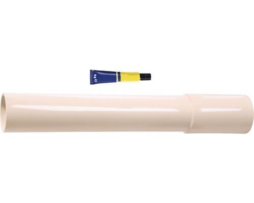 Rallonge pour tube de rinçage 30cm beige