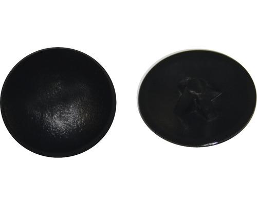 Cache Taille PZ 2, noir, plastique, 50 unités