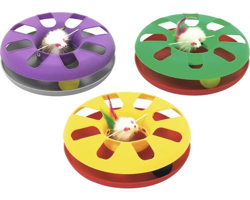 Katzenspielzeug Karlie Kitty-Roundabout 24 cm zufällige Farbauswahl