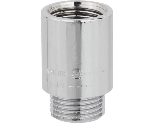 """Allonge de robinet chromée 3/8""""x20mm"""