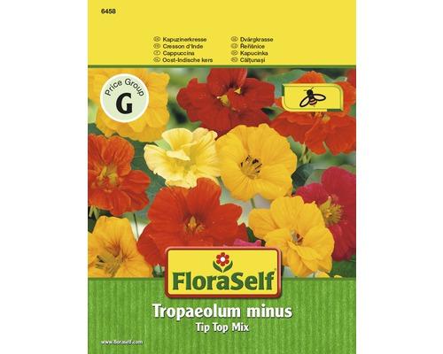 Capucine ''Tip Top Mix ''Tropaeolum minus'' semences de fleurs FloraSelf®
