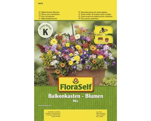 Mélange de fleurs pour jardinières de balcon semences de fleurs FloraSelf®
