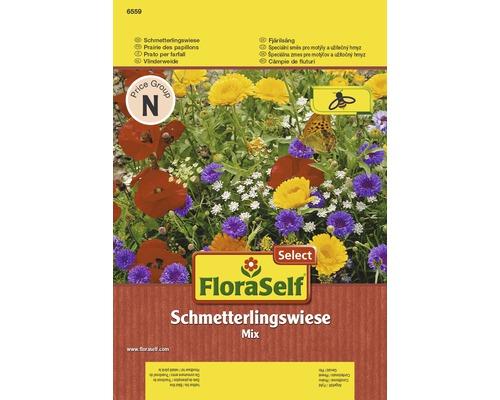 Semences de fleurs de prairie FloraSelf Select ''Prairie de papillons'' 6,5 m²