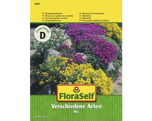 Fleurs pour rocailles, mélange, semences de fleurs FloraSelf®