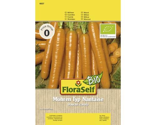 Carotte bio Nantaise semences de légumes FloraSelf®