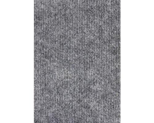 Moquette Rips Messina gris largeur 400 cm (marchandise vendue au mètre)