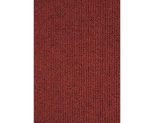 Moquette Rips Messina rouge foncé largeur 400cm (marchandise au mètre)