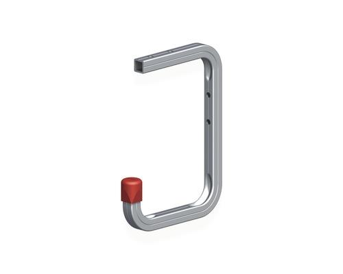 Alfer Wand u. Deckenhaken Typ 6, T 115 x H 160 x T 100 mm, Aluminium blank