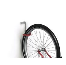Crochet de vélos pour murs et plafonds Alfer caoutchouté, P 150 x H 150 x l 120 mm, aluminium nu-thumb-2