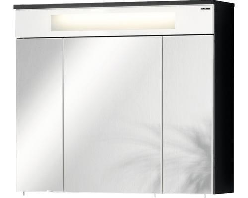 Hornbach Türen spiegelschrank fackelmann kara anthrazit weiß 3 türen hornbach