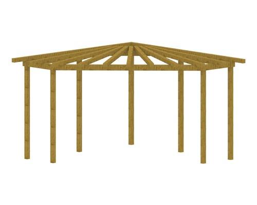 pergola d 39 angle 329x329x231 cm ch ne noueux hornbach luxembourg. Black Bedroom Furniture Sets. Home Design Ideas