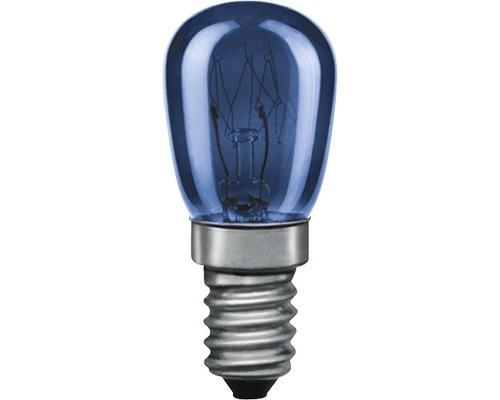 Ampoule en forme de poire TV-bleu E14 15 W 230 V