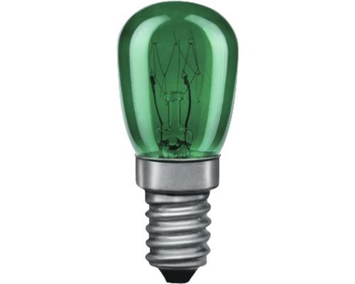 Ampoules poires E14 15 W vertes