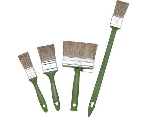 Kit de pinceaux à peinture 4 pièces