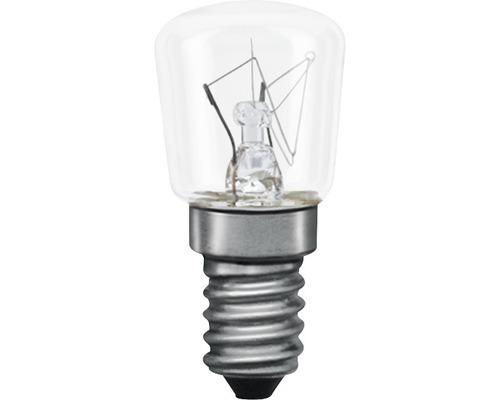 Ampoule en forme de poire E14 7 W transparent