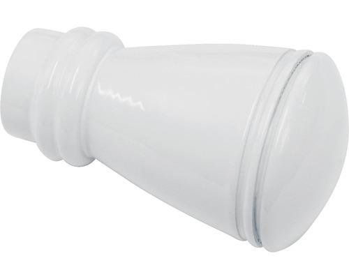 Embout Chicago Siro blanc Ø 20mm lot de 2
