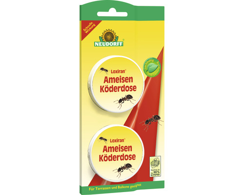 Piège à fourmis Loxiran Neudorff 2 pièces