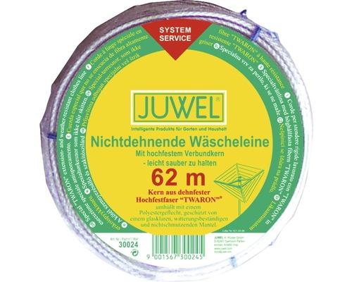Corde à linge JUWEL non étirable 62m