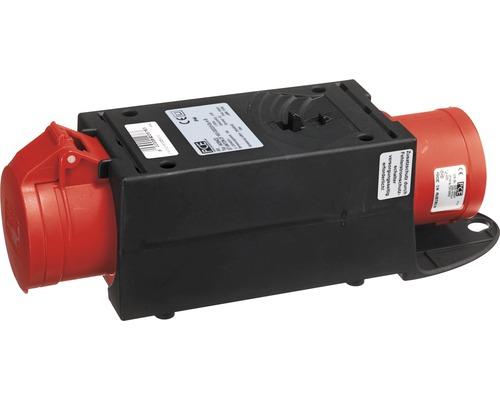 Adaptateur CEE pour dispositif de connexion de réduction PCE 32A/16A IP44 5 pôles noir/rouge