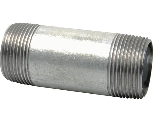 Rohrdoppelnippel verzinkt 1//2 L/änge 200mm