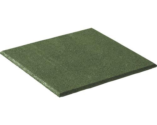 Dalle de protection anti-chute terralastic 50x50x2.5cm vert